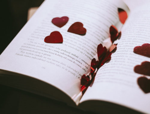 Evie Alexander blog - Featured image on my love of books