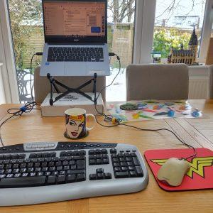 self care my desk setup